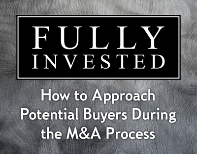 How to Approach Potential Buyers During the M&A Proces