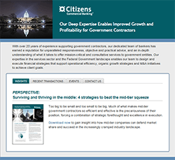 Citizens Government Contractors Finance