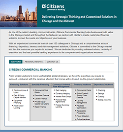 Citizens Chicago Banking
